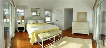 North Chatham Cape Cod vacation rental - Main Floor Master with King bed and magnificent 180 degree views