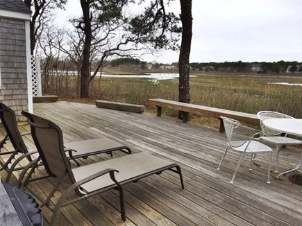 Dennisport Cape Cod vacation rental - View from the deck