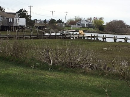 Dennisport Cape Cod vacation rental - View from the dock