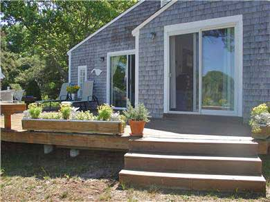 Dennisport Cape Cod vacation rental - Deck