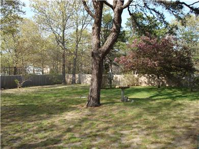 Eastham Cape Cod vacation rental - Huge fenced-in back yard