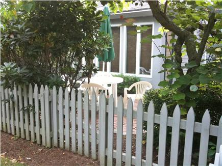New Seabury, Mashpee New Seabury vacation rental - Back Patio with eating area and gas grill
