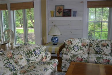 New Seabury, Mashpee New Seabury vacation rental - Bright Living Room