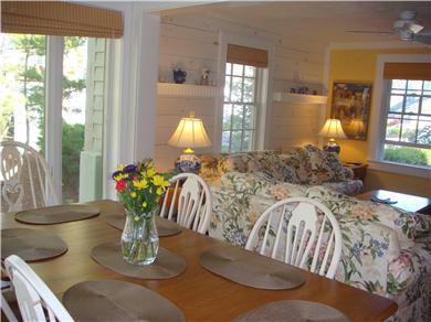 New Seabury, Mashpee New Seabury vacation rental - Dining and Living Area