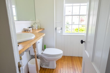 Woods Hole, Falmouth Woods Hole vacation rental - First floor bathroom, with shower stall.