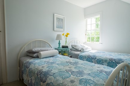Woods Hole, Falmouth Woods Hole vacation rental - Bedroom (2 of 4) with two twin beds.