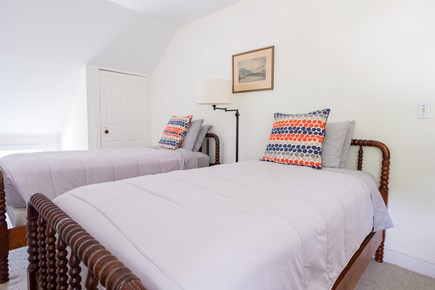 Woods Hole, Falmouth Woods Hole vacation rental - Bedroom (3 of 4) also with two twin beds.