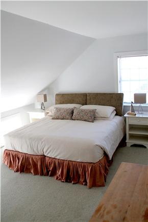 Woods Hole, Falmouth Woods Hole vacation rental - Master bedroom with king sized bed and Jacuzzi bath.