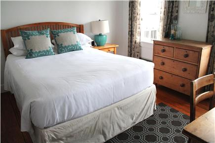 Woods Hole, Falmouth Woods Hole vacation rental - Queen bedroom on first floor off of the dining room.