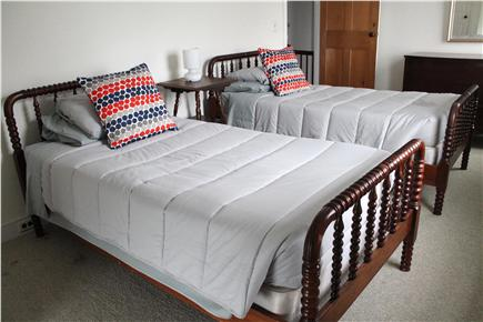 Woods Hole, Falmouth Woods Hole vacation rental - Bedroom with two twin beds
