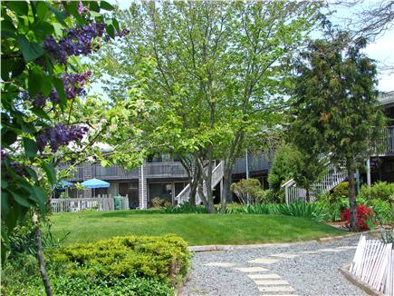 Provincetown Cape Cod vacation rental - Enjoy the gardens in the court yard