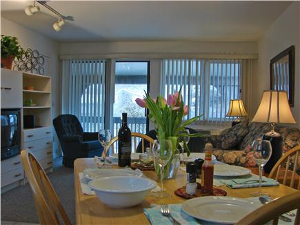 Provincetown Cape Cod vacation rental - Enjoy your meals inside or venture out to patio and courtyard