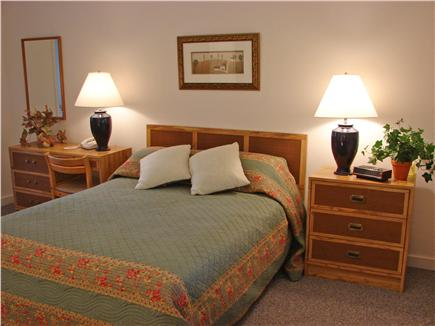 Provincetown Cape Cod vacation rental - Large queen bedroom with adjoining bathroom