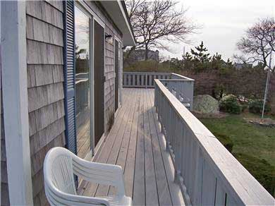 Falmouth Cape Cod vacation rental - Wrap-around deck