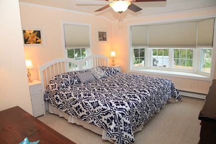 Sandwich (Town Neck) Cape Cod vacation rental - King Bedroom- Second FloorCan convert to Two Twin Beds