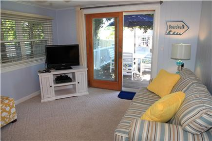 Sandwich (Town Neck) Cape Cod vacation rental - View of Family Room from Kitchen