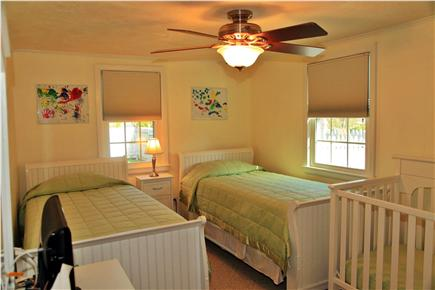 Sandwich (Town Neck) Cape Cod vacation rental - Two Twins Bedroom 1st Floor.