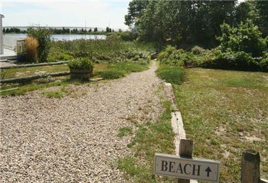 Barnstable, Hyannis Port Cape Cod vacation rental - Beach entrance