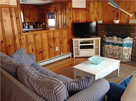 West Dennis Cape Cod vacation rental - Living room