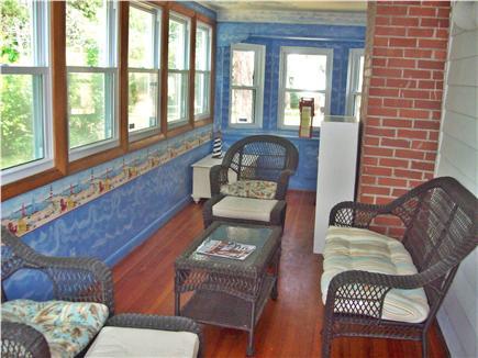 West Dennis Cape Cod vacation rental - 3-season porch