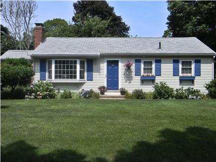 East Falmouth ( Belmar) Cape Cod vacation rental - The New Bay Window gives a great view of the neighborhood