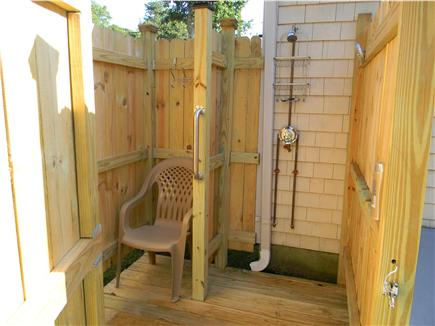 East Falmouth ( Belmar) Cape Cod vacation rental - Outdoor shower to enjoy