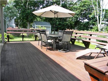 East Falmouth ( Belmar) Cape Cod vacation rental - Nice big deck for cookouts and family gatherings