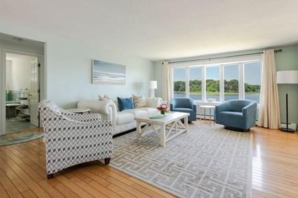 West Dennis Cape Cod vacation rental - Comfortable living room