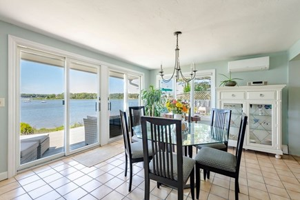 West Dennis Cape Cod vacation rental - Indoor dining with view