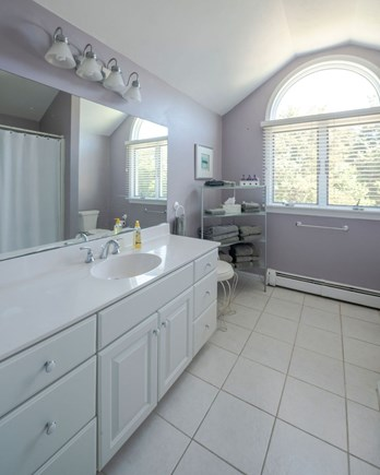 West Dennis Cape Cod vacation rental - Bathroom with tub/shower second floor