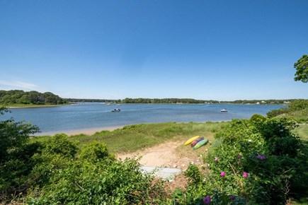West Dennis Cape Cod vacation rental - Kayaks on beach