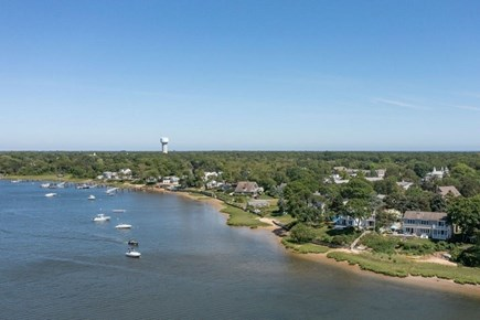 West Dennis Cape Cod vacation rental - Aerial view of Grand Cove