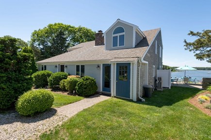 West Dennis Cape Cod vacation rental - Side view