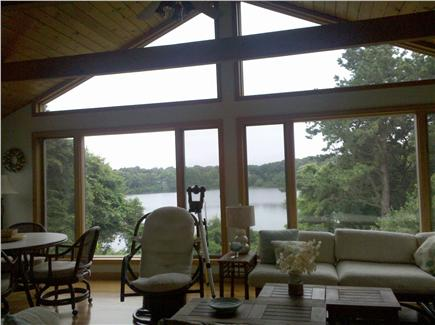 Brewster Cape Cod vacation rental - Large Sunroom overlooking Pond