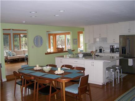 Brewster Cape Cod vacation rental - Dining Room, open to Kitchen & Living Room