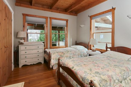 Falmouth - Quissett Harbor Cape Cod vacation rental - Twin bedroom - first floor