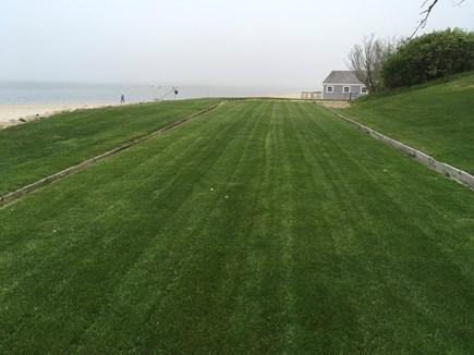 Chatham Cape Cod vacation rental - 120 foot English bowling lawn suitable for other lawn sports.