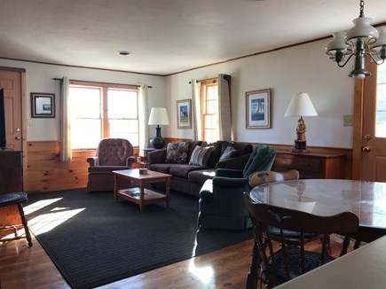 South Yarmouth Cape Cod vacation rental - Living Room / Dining Room