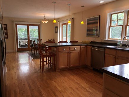 Wellfleet Cape Cod vacation rental - Inviting dining and breakfast bar