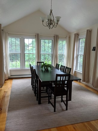 Brewster Cape Cod vacation rental - Dining room open to kitchen and sitting room