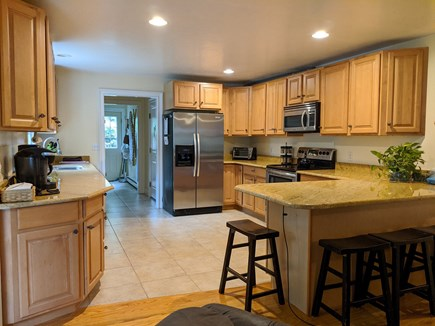 Brewster Cape Cod vacation rental - Kitchen, open to sitting and dining room