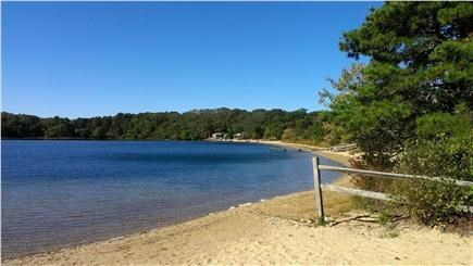 Brewster Cape Cod vacation rental - Sheep's Pond, crystal clear water.