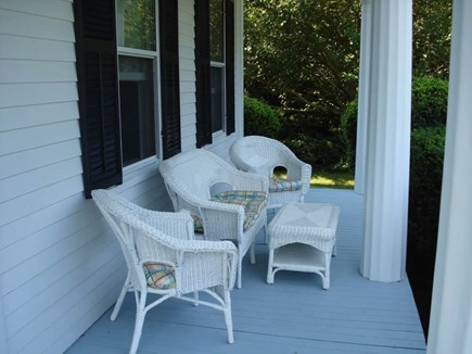 Dennis Cape Cod vacation rental - Front porch