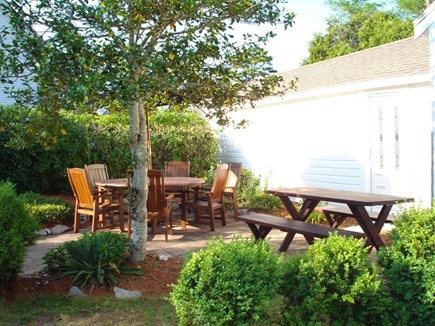 Dennis Cape Cod vacation rental - Backyard patio