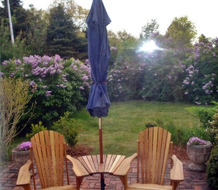Dennis Cape Cod vacation rental - Side yard patio