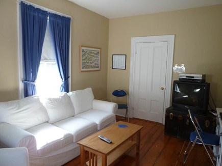 Dennis Cape Cod vacation rental - Den (TV has been replaced with flat screen)