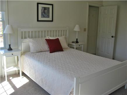 Brewster (Sheep Pond) Cape Cod vacation rental - 1st floor master bedroom with attached full bath.
