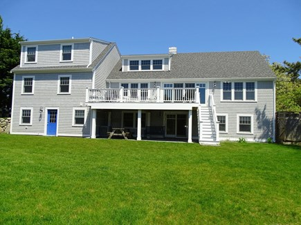 Chatham, Hardings Beach Area Cape Cod vacation rental - Spacious back yard, deck, outdoor shower and walk-out basement