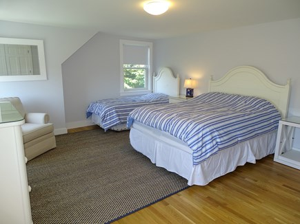 Chatham, Hardings Beach Area Cape Cod vacation rental - Upstairs loft area with TV and extra queen bed