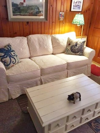 Eastham Cape Cod vacation rental - Living Room Sofa